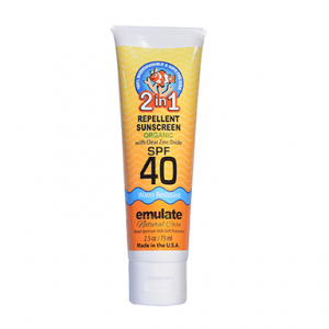 2 in 1 Organic Sunscreen and Insect Repellent SPF 40