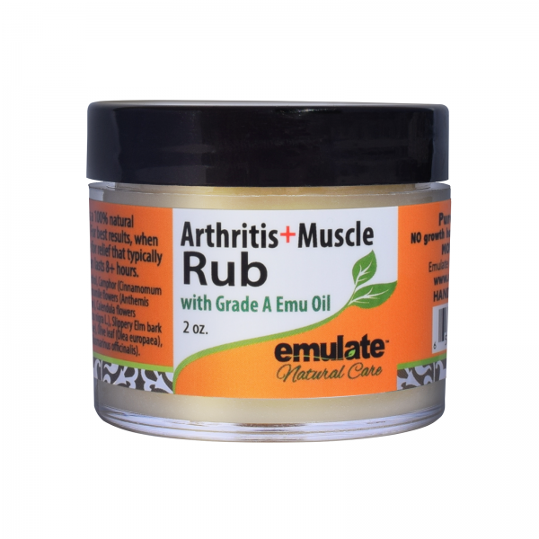 Emu Oil Arthritis Muscle Rub