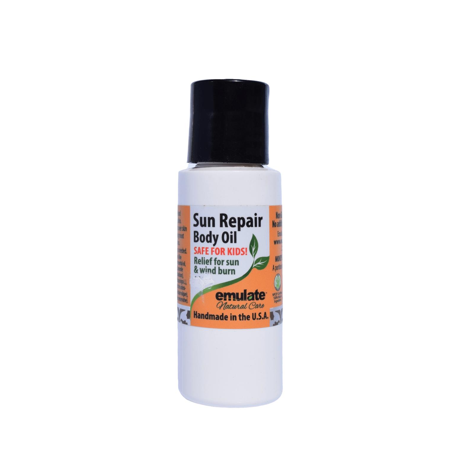 Sun repair body oil