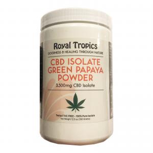 Green Papaya Powder with CBD