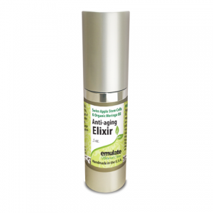 Organic Anti-aging Elixir with Swiss Apple Stem Cells & Moringa oil .5 oz