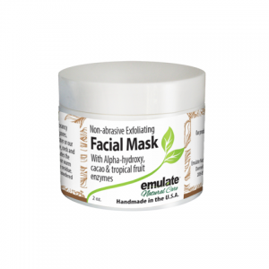 Organic Revitalizing & Anti-aging Facial Mask with activated carbon & Macha Green Tea