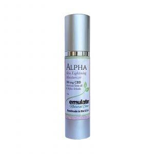 Alpha Skin Lightening Facial Moisturizer